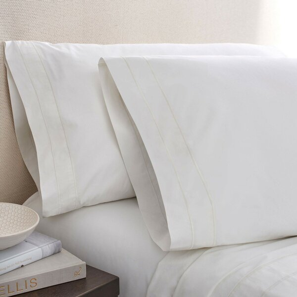 Denizen 275 Thread Count 100% Certified Organic Cotton Fitted Sheet by Portico